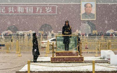Snow Day in Beijing
